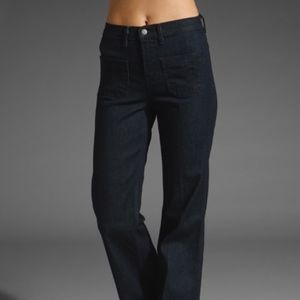 J Brand Bette High Rise Flare in Luna Wash